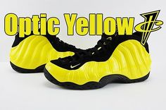 Video: Nike Air Foamposite One Optic Yellow. Link in Bio. Make sure to