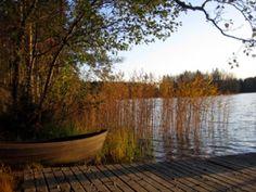Our home lake, Saparoinen.