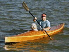 Wood Duck 12 Hybrid Recreational Kayak: An Ultra-light Kayak with a Cedar Strip Deck!