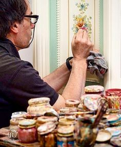 Il tocco finale che fa la differenza   The final touch that makes the difference 🎨 www.fratelliradice.com #handpainted #handpainting #bespoke #FratelliRadice #decoration #decor #workinprogress #painting #paint #artist #painter #designer #italianfurniture #italianstyle #madeinitaly #luxuryliving #luxurylifestyle #instadesign #interiordesign #Furniture #art #итальянскаямебель #роскошь #роспись 📷photo by @yulia.radice Italian Furniture, Italian Style, Luxury Living, Bespoke, Hand Painted, Touch, Couple Photos, Decoration, Instagram Posts