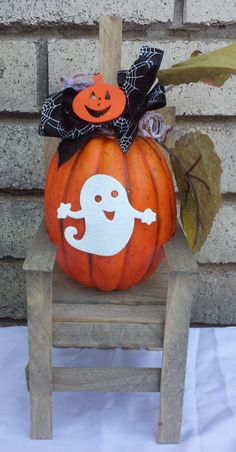 Next stop: A Touch of Ozarks Seasonal Crafts Page Little Sitters® Miniature Chair Decorations, Halloween