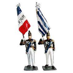 Soldados de juguete fabricados en América del Sur y México: Barbarroja