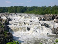 Great Falls of the Missouri in Montana