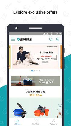 ShopClues: Online Shopping App- screenshot Ecommerce App, Online Marketplace, Google Play, Online Shopping, Shop Now, Apps, Net Shopping, App, Appliques