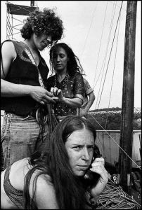 Hugely evocative. Unseen photographs from the most famous music festival of all time.    Baron Wolman's stunning black and white photographs of Woodstock are published here for the first time.