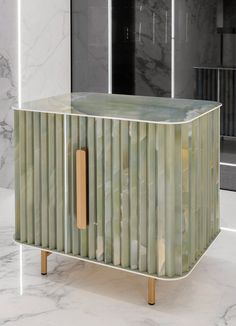 Iris Ceramica Group designs tile collection inspired by iridescent onyx stones Design Furniture, Cabinet Furniture, Cool Furniture, Inspiration Design, Furniture Inspiration, Large Format Tile, Tile Manufacturers, Buffet, Decoration