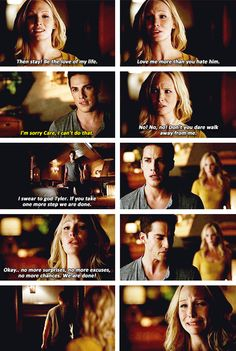 Michael Trevino x Candice Accola - Tyler Lockwood x Caroline Forbes ~ Forwood
