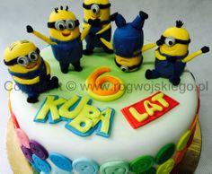 tort minionki, minion cake, styl angielski gdańsk, styl angielski trójmiasto
