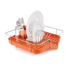 Polder KTH-660-159 Spring Dish Rack with Utensil Holder, Orange Polder http://www.amazon.com/dp/B00IMWJ2RA/ref=cm_sw_r_pi_dp_qRK5vb0QYY0ZY