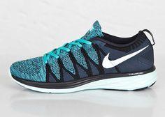 Nike Flyknit Lunar 2 Black / White / Sport Turquoise