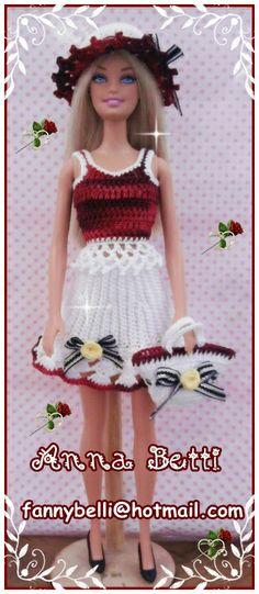 Die 97 Besten Bilder Von Barbie Häkelkleid Barbie Dress Doll
