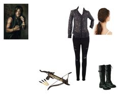 """Imagine meeting Daryl"" by amazing-loser ❤ liked on Polyvore featuring Frame Denim, Cushnie Et Ochs and Urban Outfitters"