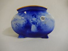 Royal Doulton Babes in the Woods Fan Vase. Sold $185