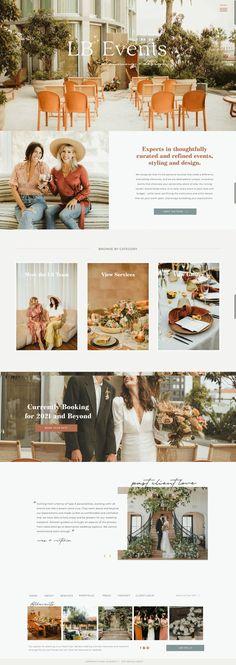 Modern Web Design, Creative Web Design, Custom Website Design, Website Designs, Website Design Inspiration, Design Ideas, Event Website, Event Planning Business, Web Design Services