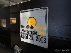 The Giant Mobile Camera ready for WPPD 2013 Photography Day, Olympus Digital Camera