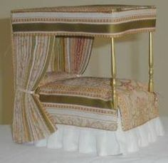 Dollhouse Beds from FINGERTIP FANTASIES Dollhouse Miniatures