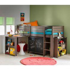 1000 images about inspirations chambre enfants on pinterest bunk beds boys tree hut and - Mezzanine jongen ...