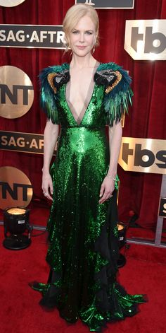 See All the Celebrity Looks from the 2017 SAG Awards Red Carpet - Nicole Kidman from InStyle.com