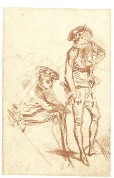 watteau, jean an ||| portrait - multi-figure ||| sotheby's l12040lot6d766en
