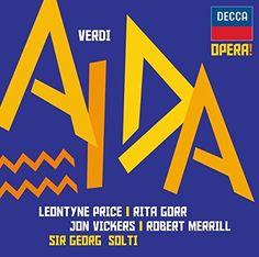 ICYMI: Guiseppe Verdi : Aïda: PRICE / VICKERS / SOLTI MUSICA CLASICA INTERNATIONAL