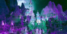 Tijdens een ritje in de nieuwe Efteling-attractie Symbolica komen bezoekers langs een gigantische miniatuurstad. Die bestaat uit tientallen verlichte huisjes, rivieren, bergen en een grote actieve vulkaan. De imposante scène 'Panorama Salon' moet...