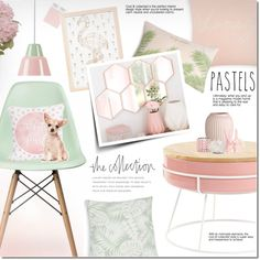 The Collection by justlovedesign on Polyvore featuring interior, interiors, interior design, home, home decor, interior decorating, Ciel, One Bella Casa, National Tree Company and Kathryn McCoy Design