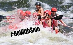 It's whitewater rafting season at Smoky Mountain Outdoors! Camp with us and you'll be right next door to rafting in the Pigeon River!