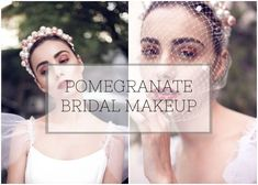 Loving this tutorial from Beyouty Lookmaker Makeup Tutorial: Pretty Pomegranate Bridal Beauty Inspiration from Beyouty!
