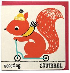 Scooting squirrel from psikhouvanjou