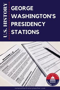 Engage your students by getting them up and moving around with this George Washington Stations activity! Students will analyze primary sources and think critically about Washington's presidency. Kinesthetic learners will be able to move about! Your students will find that the class period flies by. This best-selling resource is sure to lead your students to success when learning about US History! #notanotherhistoryteacher #history #socialstudies #highschool