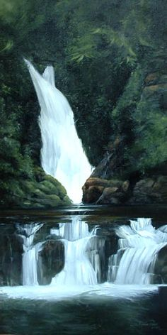 Lamington national Park QLD – Oil Painting Places Around The World, Around The Worlds, Wonderful Places, Beautiful Places, Australia Travel, Gold Coast, Dream Vacations, Art Oil, Oil Paintings