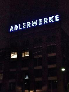 Frankfurt - Gallus Frankfurt, Broadway Shows, Neon Signs