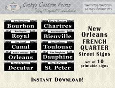 bourbon street streetlight place card holders let a nostalgic expression of days gone by lead the way to your happy occasion