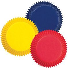 Primary Colors Standard Cupcake Liners by Wilton