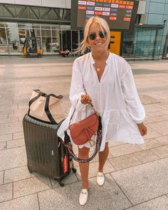 Boho Fashion Fall, Holiday Fashion, Holiday Wear, Summer Getaway Outfits, Summer Airport Outfit, Airport Outfits, Airport Chic, Airport Style, Honeymoon Attire