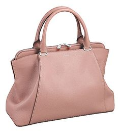CARTIER C de Cartier leather small tote (Pink