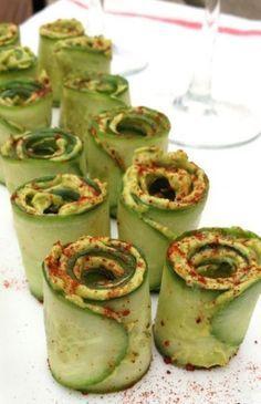 Cucumber Avocado Rolls www.avina78.jeunesse.com/nutrition #Zen