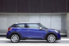 Mini Paceman (2013) - not sure about this, its looking too main stream