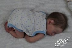 Pigott's Playpen SOLID Platinum Silicone Baby Reborn Doll Patrick Bonnie Brown