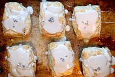 Lavender and toasted walnut scones