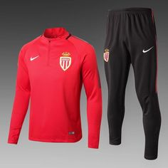 ensemble de foot AS Monaco nouveau