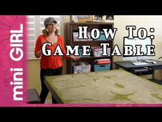 Miniature table top gaming table, made easy in less than 10 steps. Wargaming Table, Wargaming Terrain, Game Terrain, 40k Terrain, Warhammer Terrain, Warhammer 40k, Pen And Paper Games, Nerd Crafts, Modeling Tips