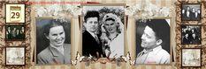 Пятница 29 декабря. В 1956 году Мама с Папой в этот день поженились.