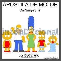 >> Apostila digital Os Simpsons [ conforme imagem], para ser feito em feltro/tecido.  >> Vem com os personagens que estão na imagem! Nesta mesma posição! R$ 30,00 https://www.facebook.com/inconDYcional/photos/a.811942578856722.1073741827.187805041270482/1136396186411358/?type=3&theater