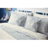 William Morris Willow Bough China Blue Oxford Pillowcase