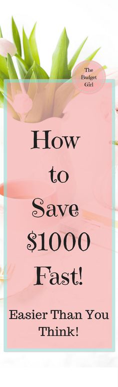How to save money fast with these simple tips. Save money and pay off debt with these simple tips.