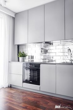 Browse the most stylish products for your Kitchen & Dining Room. Or maybe nice vase as a kitchen decor? Modern Kitchen Cabinets, Kitchen Interior, Kitchen Decor, Industrial Kitchen Design, Kitchen Time, Kitchen Models, Updated Kitchen, Home Kitchens, Designer