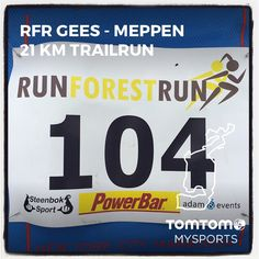 RunForestRun Gees - Meppen in Meppen. 21 km in 1:38:32