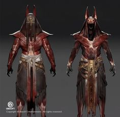 ArtStation - Assassin's Creed: Origins Anubis Outfit Concept, Jeff Simpson