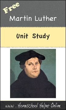 Martin Luther and the Reformation Unit Study - Homeschool Helper Online